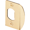 Strike Plate Polished Brass E 2232 0
