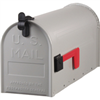 Mailbox Rural #1 1-1 Gray Steel 0