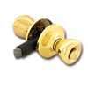 Mobile Home Lockset-Kwikset Privacy Knob Polished Brass 300M3Cp7 0