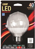 Bulb-Globe Led G25 40W 300K Med  Base Dimmable Dpg2540/F/827/Led G25/Dm/Ledg2 0