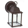 Light Fixture Exterior Wall Lantern Rustic Brown Al1037-Rb3L 0