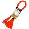 Extension Cord 12/3 3-Outlet 2' Powerzone ORAD50802 0
