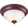 Light Fixture Ceiling 2Lt Brown Alabaster Brt-Ate1012-Rb3L 0