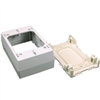 Wiremold Nm  Outlet Box Duplex Ivory Nm3 0