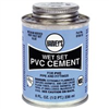 Cement Pvc  8Oz Wet Set Blue 018410 0