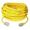 Extension Cord 12/3 Yellow Jacket 50' w/ Lighted Ends 2884 0