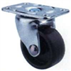 "Floor Care Caster Black/Zinc Swivel 1-5/8"" Jcb09 0"