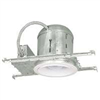 "Recess Light-6"" New Construction Insulated Can w/ White Baffle&Trim 7"" Kt6/5509BICG3L 0"