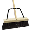 "Broom-Push w/ Handle 16""Poly Street Outdoor Use 00649 0"