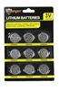 Battery-9Pk Lithium Button Cell Cr2032 22-2220824 0