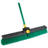 "Broom-Push w/ Handle 18"" S Bulldozer W/Bracket Indoor/Outdoor Surfaces 00628 0"