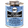 Cement Pvc 16Oz Wet Set Blue 018420 0