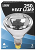 Bulb Heat Lamp 250W R40 Reflector Clear Infared Medium Base 250R40/1 0