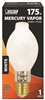 Bulb Mercury Vapor 175W Deluxe White Mogul Base H39Kc-175/Dx 0