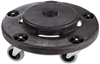 Round Dolly For 44 Gal Industrial Trash Can B101C/3255 0