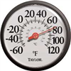 "Thermometer Outdoor 12"" 6700 0"