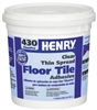 Adhesive Floor Tile 1Gal Latex Henry 430-040 0