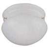 "Light Fixture Ceiling White 8"" Opal Glass F13Who1-68543L 0"