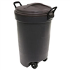 Trash Can 32Gal Palstic Wheeled L3-1339 0
