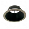 "Recess Light-Trim 7-1/4"" Open w/ Black Baffle&White Trim Tm2 0"