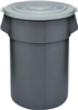 Trash Can*S*44Gal Plastic Huskee 4444Gy 0