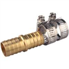 "Hose End Brass Mender 3/4"" w/ Clamp 58143N 0"