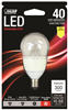 Bulb-Fan Led A15 4.8W  3000K Cand Base Dimmable Bpa15C/Cl/Dm/Led 0