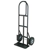 Hand Truck P Handle Dolly Heavy Duty Pneumatic Wheels 600Lb Load Capacity 0