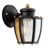 Light Fixture Exterior Wall Lantern Black Hv-66961-Bk 0