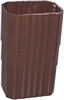 "Downspout Coupler 2""X3"" Brown 0"