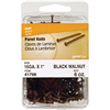 "Paneling Nails 1-5/8"" Black Walnut 41799/N279-380 0"