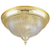 Light Fixture Ceiling Polish Brass Swirled Glass F52BB01-8030C3L 0