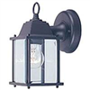 Light Fixture Exterior Wall Lantern Black Al1037-53L 0