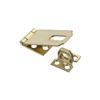 "Hasp 2-1/2"" Safety Brass   Non Swivel N102-178 0"