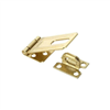 "Hasp 3-1/4"" Safety Brass   Non Swivel N102-293 0"