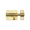 "Barrel Bolt 2-1/2"" Brass N151-480 0"