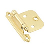 Cabinet Hinge Flush Bright Brass Self Closing Bp34293 0