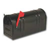 "Mailbox Rural T2 Black Heavy Duty 22.875""X11""X8.75"" E1600B00 0"