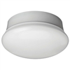 "Light Fixture Ceiling White 7"" Spin/No Chain 11.5W 830Lms 84Cri 0"