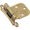 Cabinet Hinge Flush Burnished Brass Self Closing Bp7929Bb 0