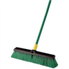 "Broom-Push w/ Handle 18"" Bulldozer Indoor/Outdoor Surfaces 00528 0"