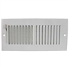 "Register-Sidewall 10""X4"" White Sw02-10X4 382W10X4R 0"