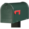 Mailbox Rural #1 Green Steel E1100G00 0