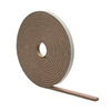 Foam Tape 1/4X1/2X17' Brown High Density 02816 0