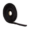 Foam Tape 1/4X1/2X10' Sponge Rubber 06577 0