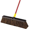 "Broom-Push w/ Handle 18"" Bulldozer Rough Surfaces 00526 0"