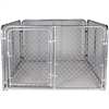 Chain Link Dog Kennel Kit Sm 6'X8'X4' 0
