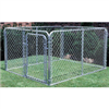 Chain Link Dog Kennel 10'X10'X6' 0