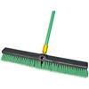 "Broom-Push w/ Handle 24"" Bulldozer Indoor/Outdoor Surfaces 00538 0"