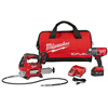"Combo Kit Milwaukee 2767-22GG M18 1/2"" 1400Lbs Impact & Grease Gun 0"